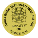 Bordeaux Challenge International du Vin 2015: aranyérem