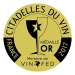 Les Citadelles du Vin 2017 aranyérem