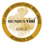 2016 – Mundus Vini Aranyérem + Best Show of Hungary