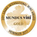 2017 – Mundus Vini Aranyérem + Best Show of Hungary