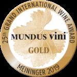 Mundus Vini Summer Tasting 2019 – Gold